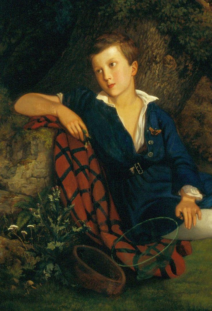 Keleti Gusztáv: Eötvös Lóránd ifjúkori arcképe, részlet, 1858, olaj, vászon, 95 x 79 cm