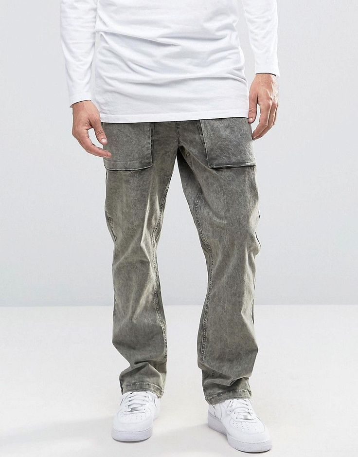 Get this Asos's straight trousers now! Click for more details. Worldwide shipping. ASOS Straight Leg Acid Wash Trousers In Light Khaki - Green: Trousers by ASOS, Stretch twill, Acid wash finish, Drawstring waistband, Functional pockets, Straight fit - cut with a straight leg, Machine wash, 98% Cotton, 2% Elastane, Our model wears a W 32 L 32 and is 185.5cm/6'1 tall. ASOS menswear shuts down the new season with the latest trends and the coolest products, designed in London and sold across the…