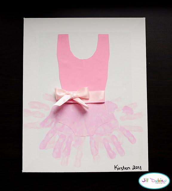 Hand print art...could Fancy Nancy craftLittle Girls, Ideas, Hands Prints, Dance Teacher, Ballerinas, Handprint Tutu, Handprint Art, Kids Crafts, Hand Prints