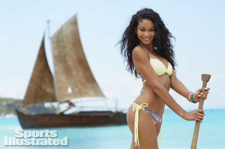 """Chanel Iman - Madagascar - SI - Swimsuits For All - http://www.swimsuitsforall.com/ - My Multicultural World - Past, Present  Future - FuTurXTV  Funk Gumbo Radio - Money Train, FuTurXTV  Funk Gumbo Radio: http://www.live365.com/stations/sirhobson and """"Like"""" us at: https://www.facebook.com/FUNKGUMBORADIO"""