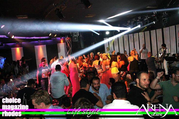 ...Le panic @ Arena Live Rhodes..Summer 2014