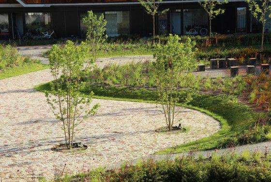 Ensemble d'habitation et résidence pour personnes âgées à Purmerend aux Pays-Bas