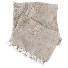 Sarva Paisley Wool Throw