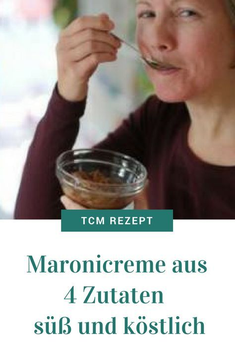 Maronicreme aus 4 Zutaten – süß und köstlich