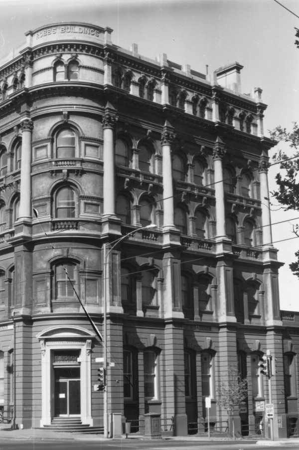 Robb's buildings cnr collins and spencer st, melbourne 1970s