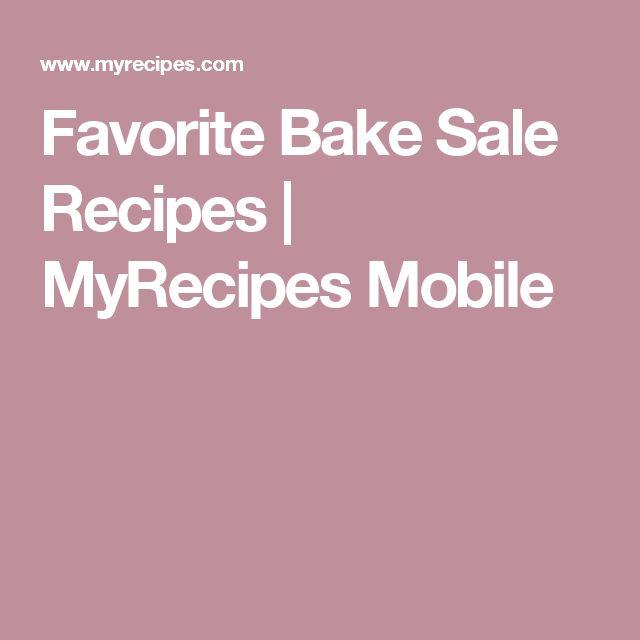 Favorite Bake Sale Recipes   MyRecipes Mobile