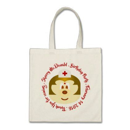 Nurse 鮑 鮑 Birthday Souvenir Tote Bag 3 - nursing nurse nurses medical diy cyo personalize gift idea