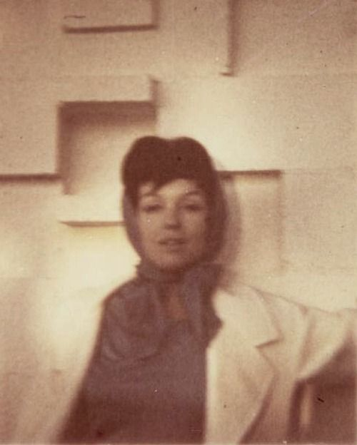 """A very rare photo of Marilyn sporting her """"Zelda Zonk"""" incognito look c. 1960s"""