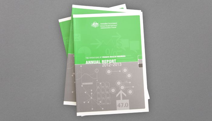 Private Health Insurance Administration Council (PHIAC) OPHI Annual Report design http://www.spectrumgraphics.com.au/