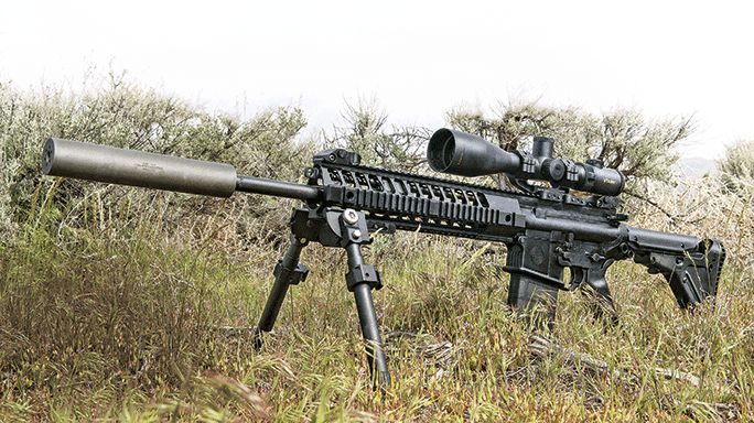 The Sig Sauer 716 DMR brings power and speed for today's designated marksmen!