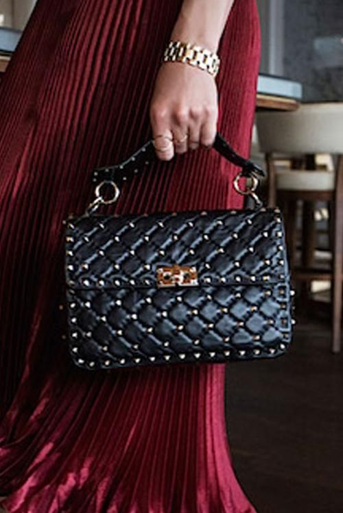 Valentino Garavani Bags  Valentine's day is just around the corner. Who wants this beautiful bag? Shop now @runwaycatalogs link in profile. ⠀