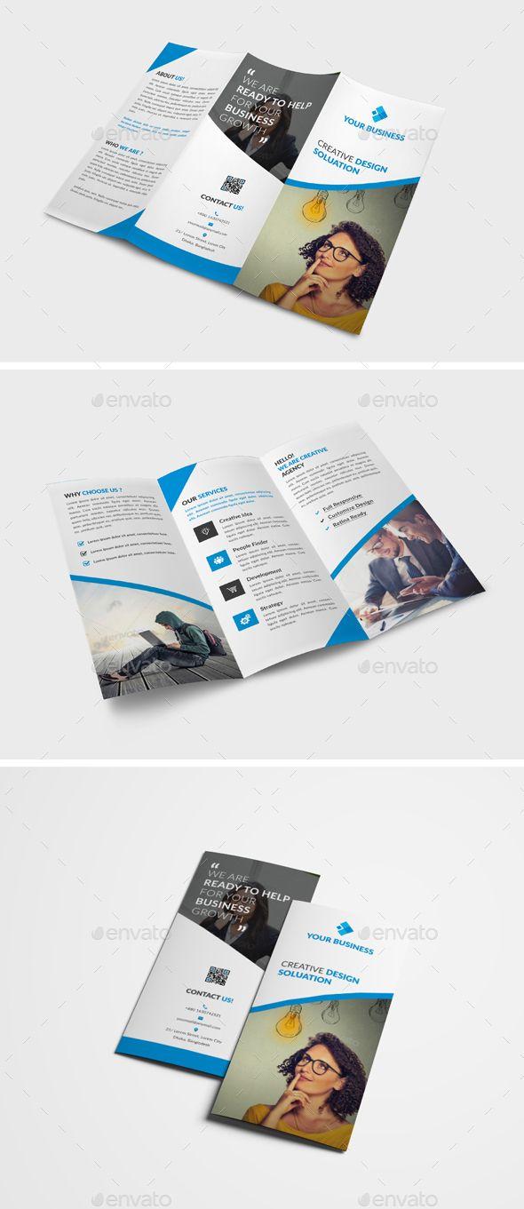 Trifold Brochure Brochure Template Ai Illustrator And