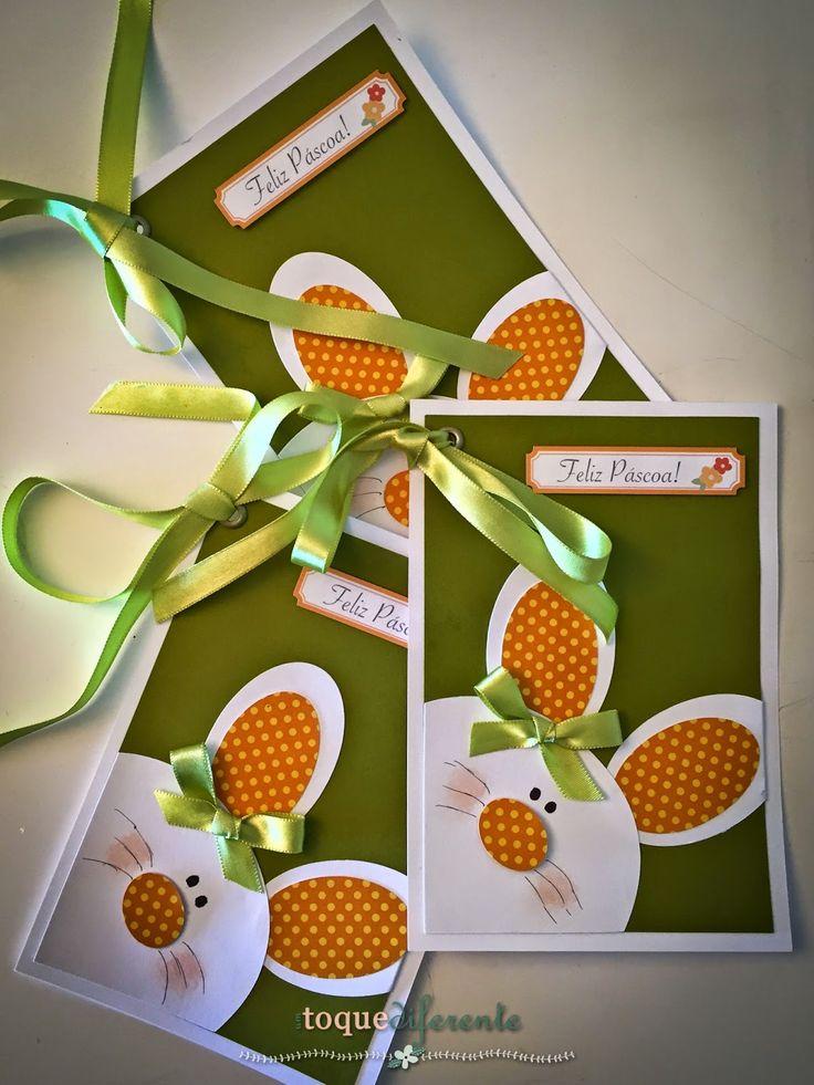 Toque Diferente: Cartão de Feliz Páscoa!