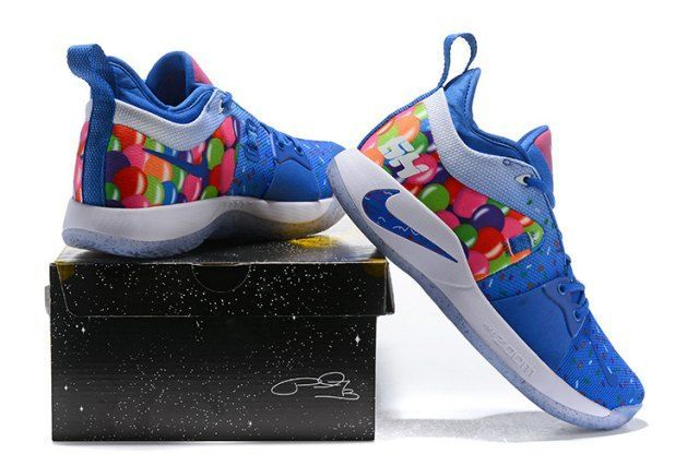 28ed1deebc14 Nike PG 2 EP Blue Orange Men s Basketball Shoes  mensbasketball Nike Paul  George