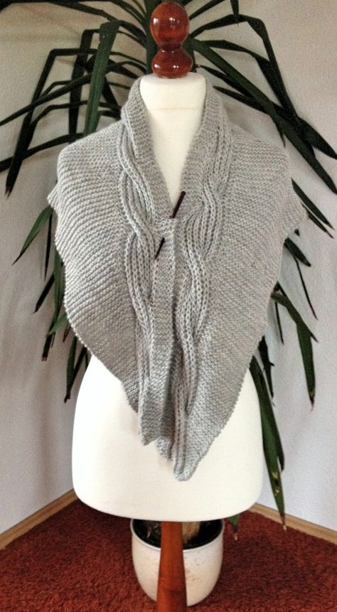 Maggie | Zopf, Schals und kostenlose Muster