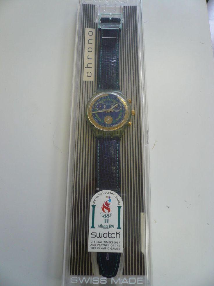 SWATCH CHRONO  ATLANTA 1996 - CENTENNIAL OLYMPIC GAMES