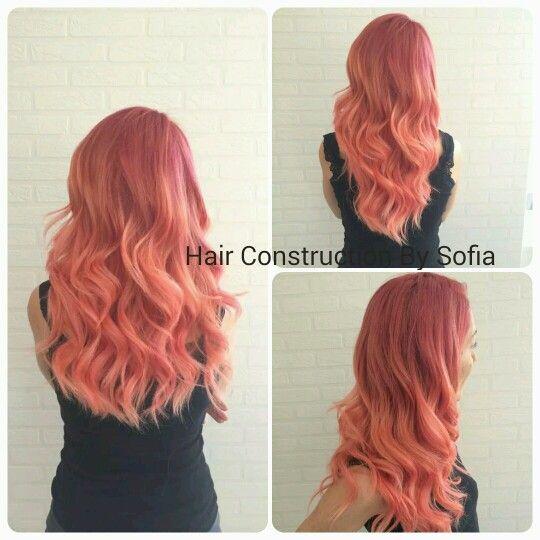 Apricote hair