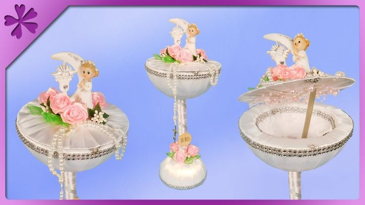Diy How To Make Communion Chalice With Gift Inside Eng Subtitles Spe Communion Wedding Crafts Gifts