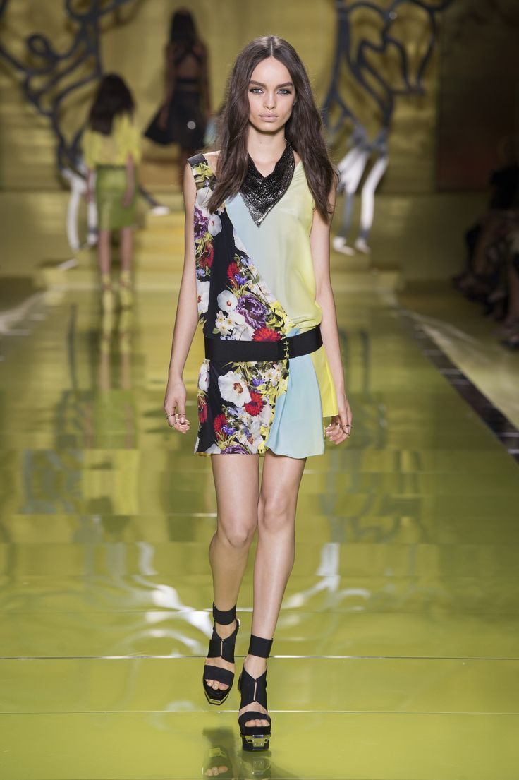 #Style#Outfit# Versace Women's Collection Spring Summer 2014 -