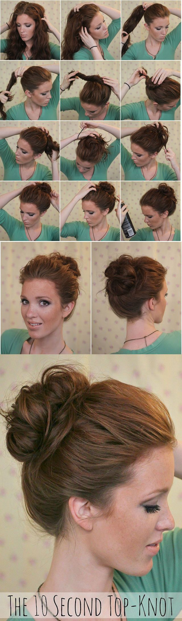 10 Second Top Knot Pictures, Photos, and Images for Facebook, Tumblr, Pinterest, and Twitter