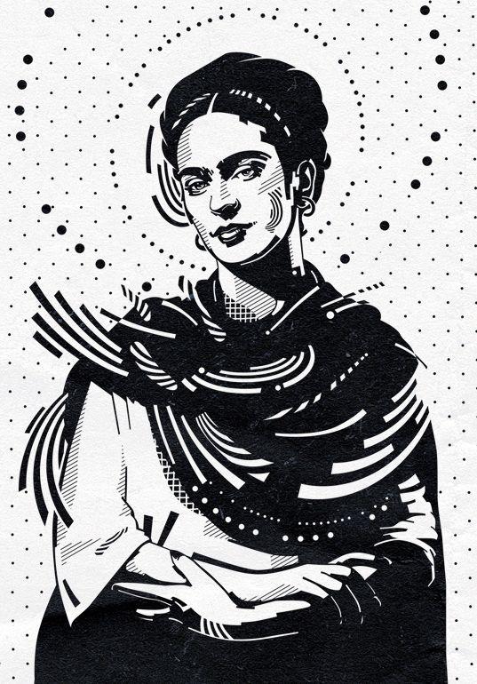 Frida Kahlo by mixmasterangel.deviantart.com on @deviantART