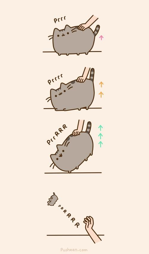 Pusheen cat's twitter page :) Omg trying so hard not to lol right now because I'm in public