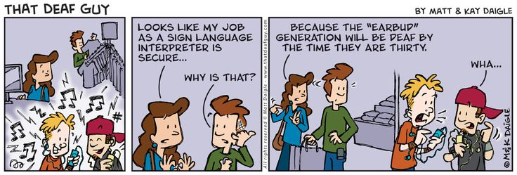 Job security...this goes for us Audiologists too. It's sad to say, but true!