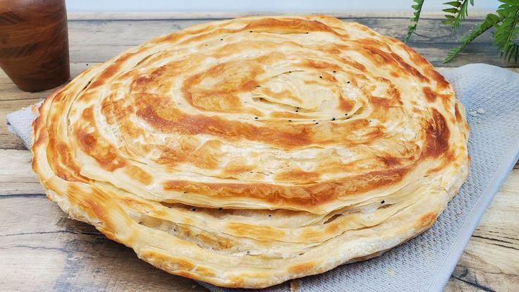 طريقة خبز الرشوش بدون تنور خطوة خطوة للمبتدئين Layered Bread Recipe St Food And Drink Food Arabic Food