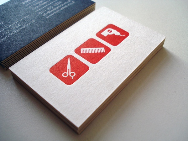 Business Cards And Gift Tokens For A New Independent Hair Salon In Manchester
