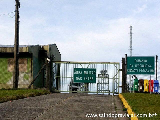 Morro da Igreja - Segundo Centro Integrado de Defesa Aérea e Controle de Tráfego Aéreo (CINDACTA II- Comar) da Força Aérea Brasileira (FAB