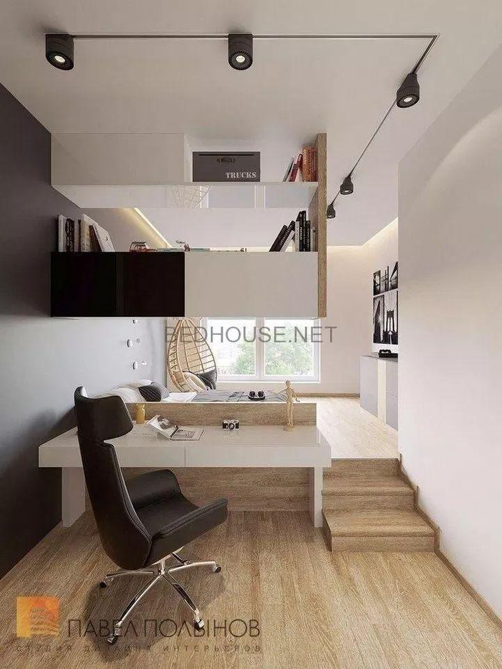 Etagenbetten als Raumteiler, moderne Wand mit Gebäude 22 ~ Design und Dekoration