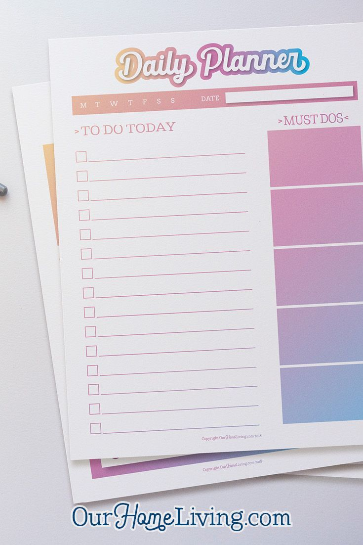 homemaking how to make a daily schedule planners pinterest