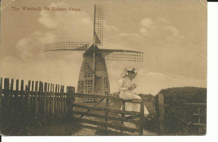 THE WINDMILL HOLMER GREEN BUCKINGHAMSHIRE 1900-10 PC | eBay