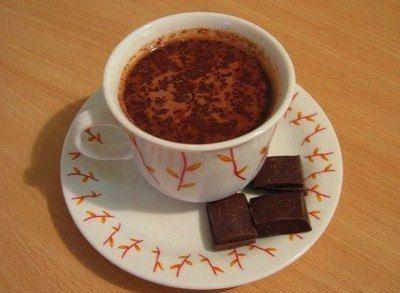 Горячий кремовый шоколад