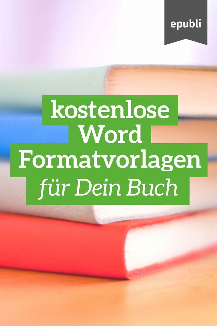Du willst sofort mit dem Schreiben Deiner Geschichte beginnen? Lade Dir jetzt die kostenlosen Word Formatvorlagen runter und leg' los! http://www.epubli.de/blog/hilfe-bei-der-bucherstellung-epubli-word-formatvorlagen-zum-kostenlosen-download #epubli #schreibtipps