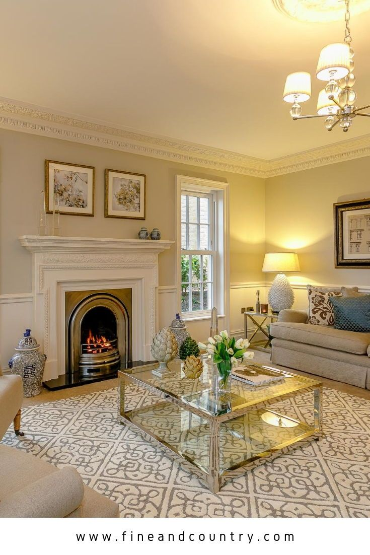 Elegant Living Room Details In West Yorkshire Uk Perfect If