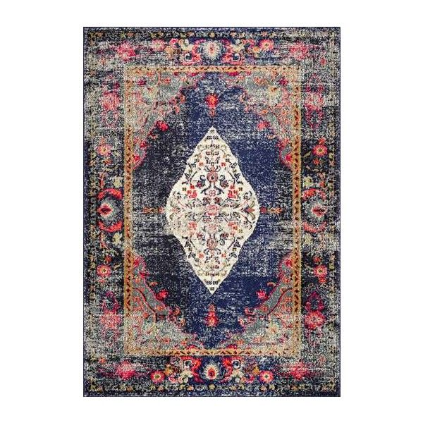ChromaCB26 Iris Fading Oriental Medallion Rug ($120) ❤ liked on Polyvore featuring home, rugs, medallion rug, medallion area rug, braided area rugs, oriental style rugs and asian area rugs