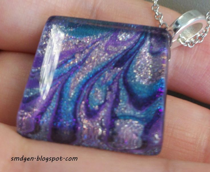 Art: my way: Nail Polish Jewelry! love it! must try! www.eCrafty.com for glass tiles, bezels, bails, jewelry supplies