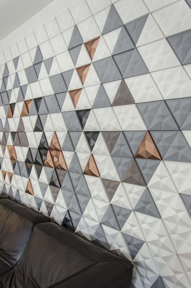 Tre, los azulejos geométricos de Next Ship para Kaza | Experimenta