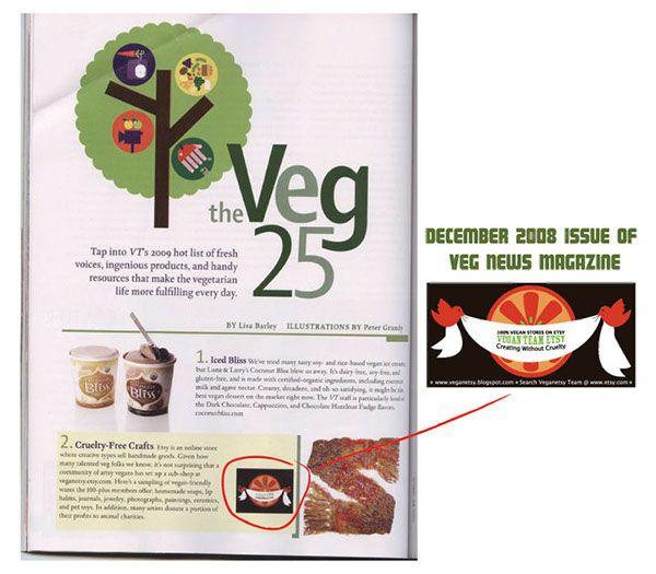 Branding for the Vegan Etsy Team.