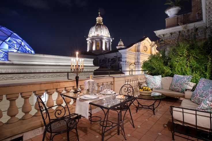 16 best Terrazze images on Pinterest | Grand hotel, Rome italy and ...