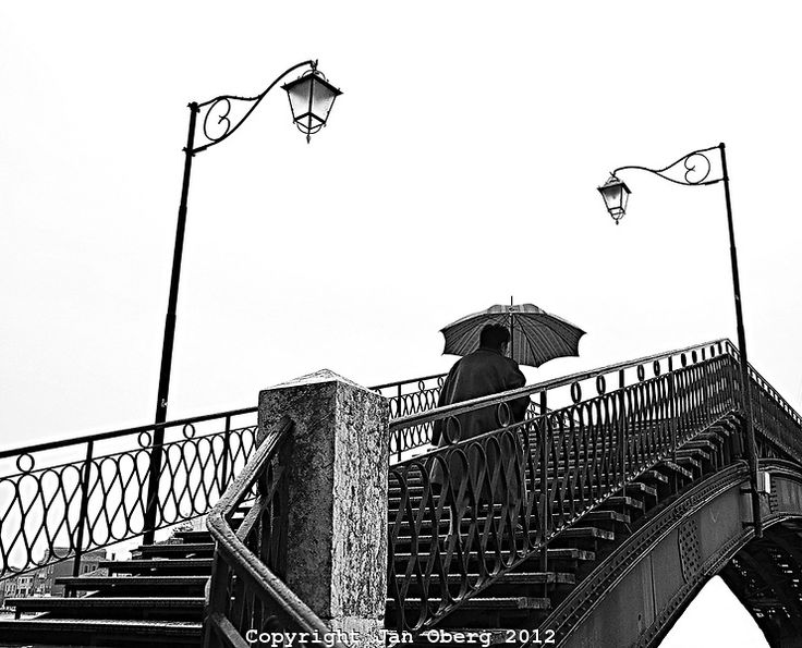 Woman On Bridge, Murano 2012