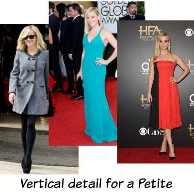 Petite body shape #petite  http://www.style-yourself-confident.com/petite-body-shape.html