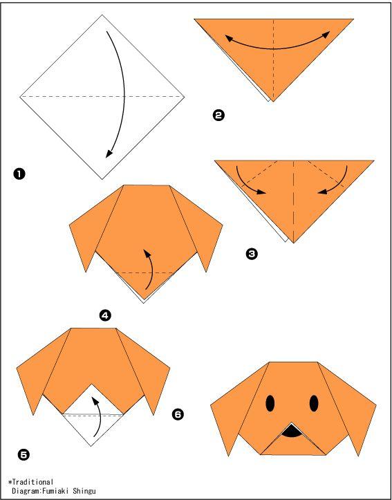 20простых оригами, которые можно сделать сдетьми