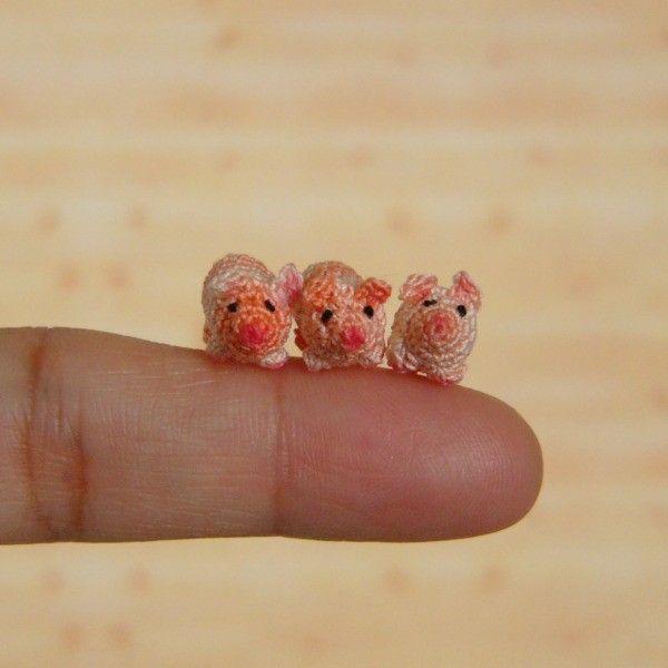 Muffa's - Micro Miniature (Nano) Pig into a Purse - Pouch. $33.00, via Etsy.
