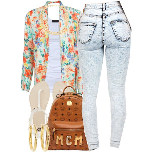 A fashion look from July 2014 featuring white shirt, MINKPINK and distressed jeans. Browse and shop related looks.