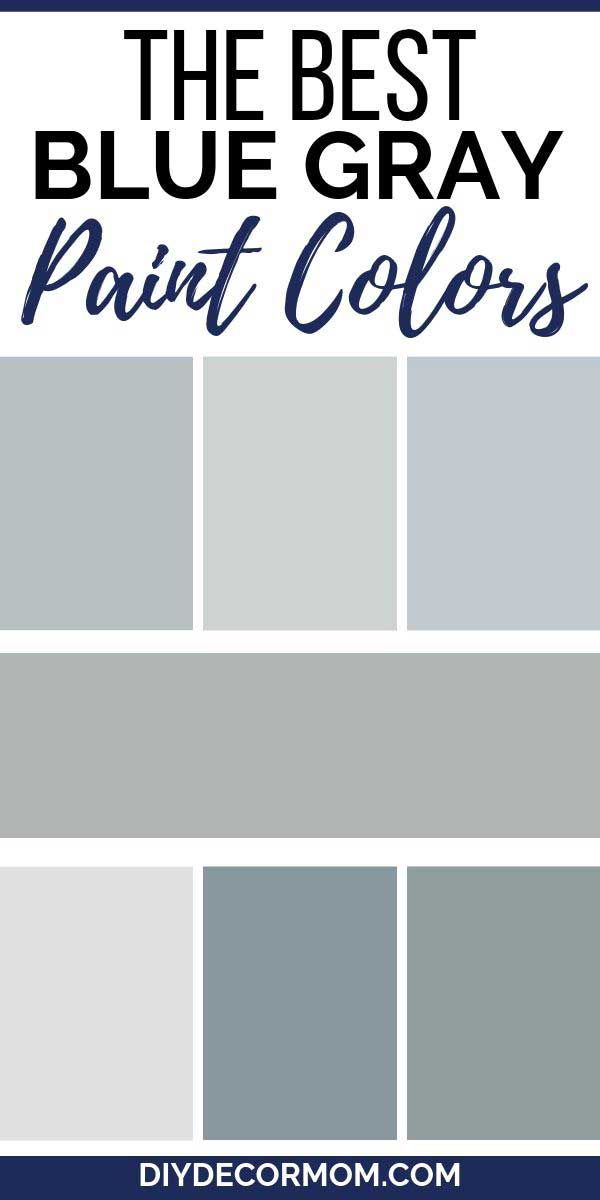 Most Popular Blue Gray Paint Colors 25 Benjamin Moore Sherwin Williams Blue Gray Paint Colors Blue Gray Kitchen Cabinets Grey Paint Colors