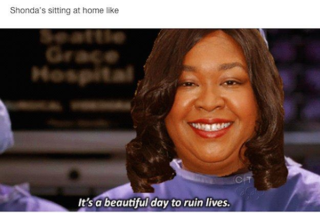 "26 Times ""Grey's Anatomy"" Fans Were So Done With Shonda Rhimes"