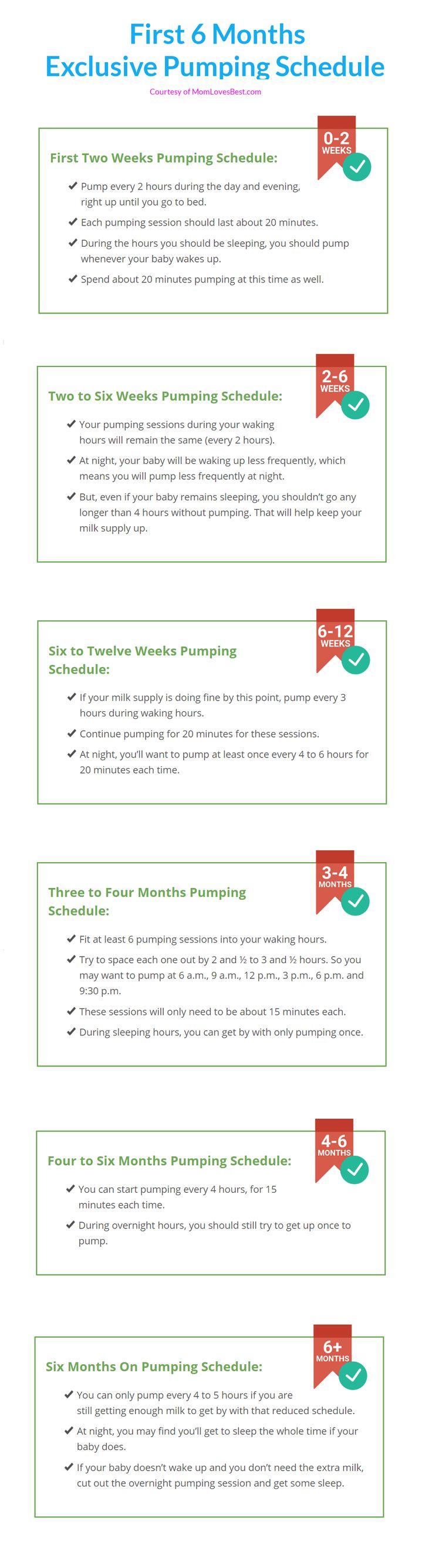 Best 25 Pumping schedule ideas on Pinterest