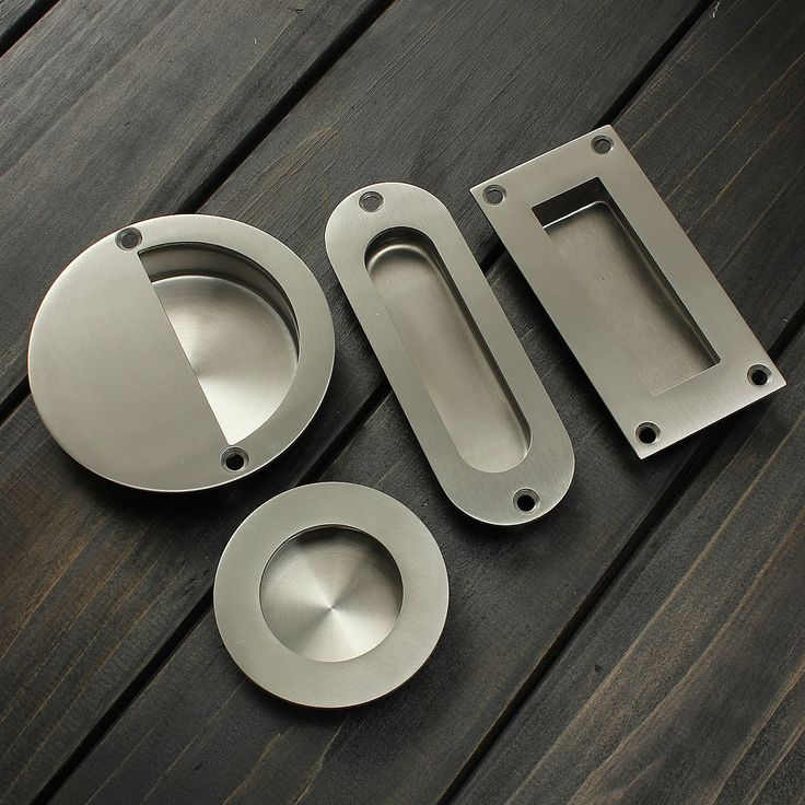 Stainless Steel Recessed Flush Pull Drawer Cabinet Door Cupboard Handle w/ Screw in Home & Garden, Home Improvement, Building & Hardware, Cabinets & Cabinet Hardware, Cabinet Knobs & Pulls | eBay